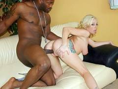 Adrianna Interracial Meat Nailing