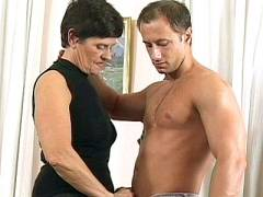 Dick Riding Grandma