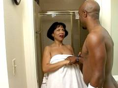 MILF Latina Black To make somebodyed