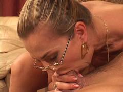 Peni Gagged Blonde MILF