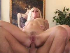 Blonde Wife Anal Riding