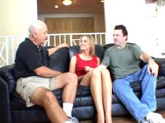 Leggy Blonde Wife To get a pieceed