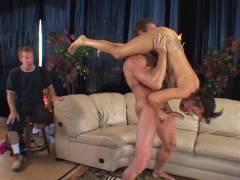 Sexy Wife Trixie Fellatio Off a Tool