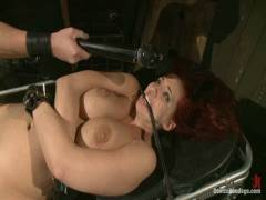 Device Bondage: Kelly Divine: Stretched, Pokeed, Flogged, And Squirting Everywhere, Rosebud Exposed