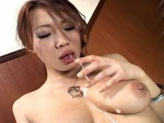 Misaki Asou best sloppy and messy oral sex!